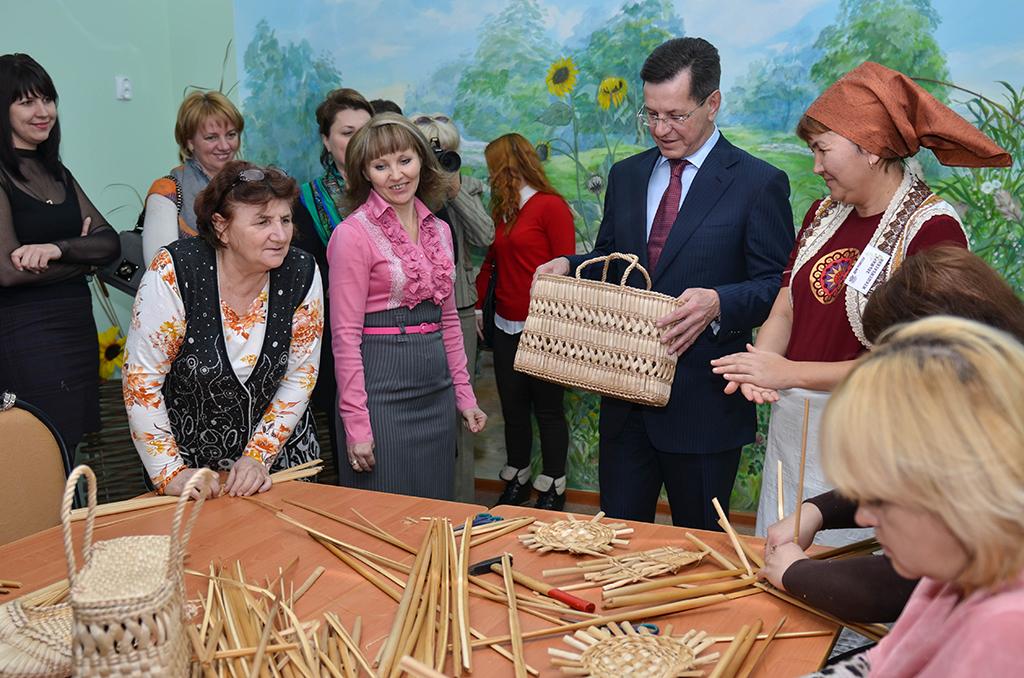 Дом ремёсел презентовал своё творчество АстраханскаяОбласть.РФ