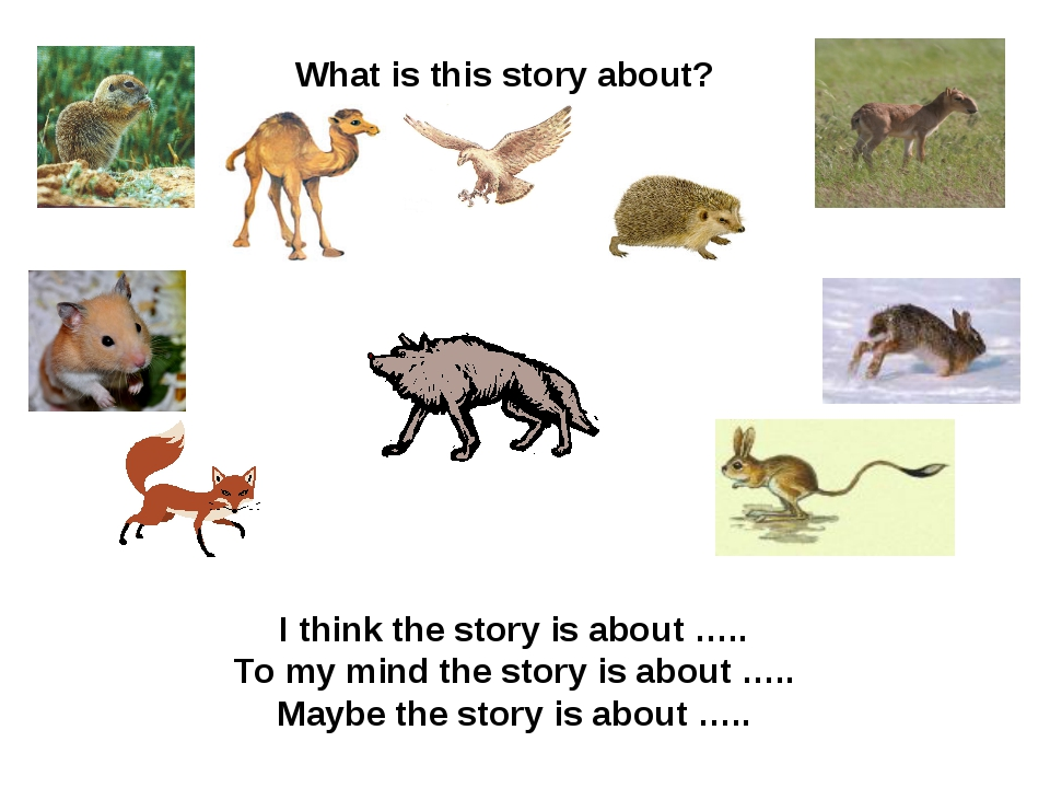 What is this story about? I think the story is about ….. To my mind the story...