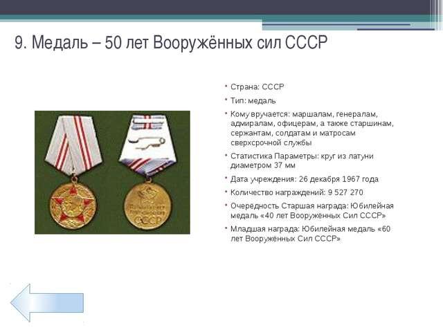 21. Медаль – «Ветеран МВД»
