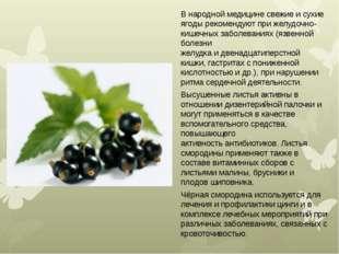 Внародной медицине свежие и сухие ягоды рекомендуют прижелудочно-кишечных з