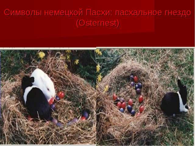 Символы немецкой Пасхи: пасхальное гнездо (Osternest)