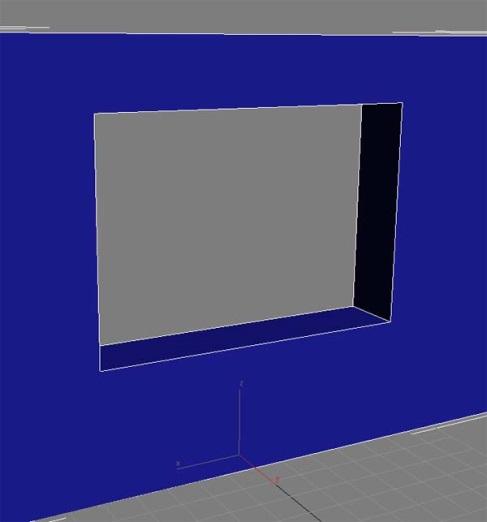 Окно в 3d max