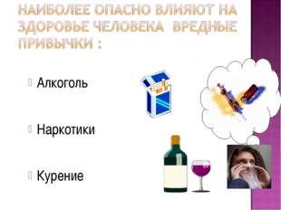 Алкоголь Наркотики Курение