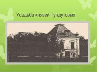 Усадьба князей Тундутовых