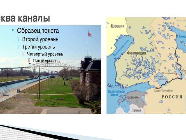 Москва каналы