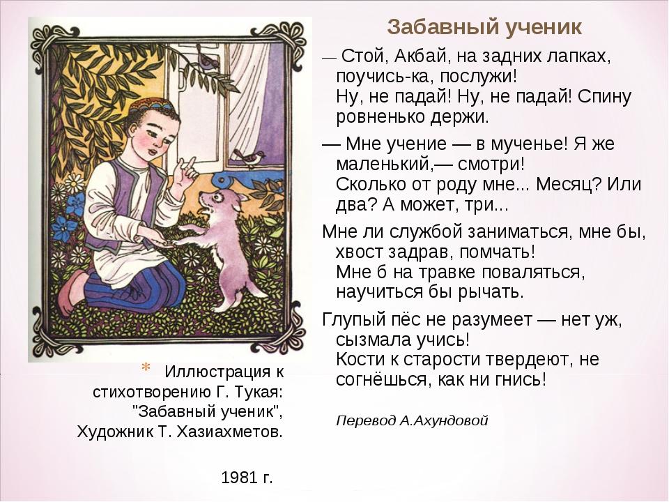 отличаются лучшие стихи на татарском мой друг, днем