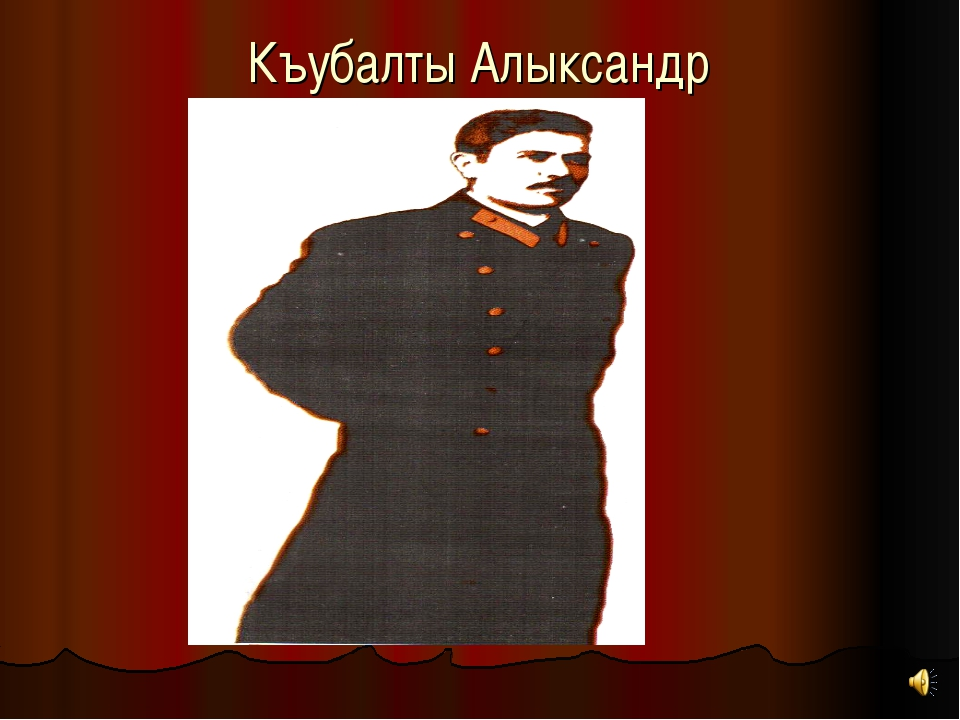 Къубалты Алыксандр