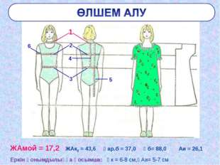 ЖАмой = 17,2 ЖАк2 = 43,6 Ұар.б = 37,0 Ұб= 88,0 Аи = 26,1 Еркін қонымдылыққа қ