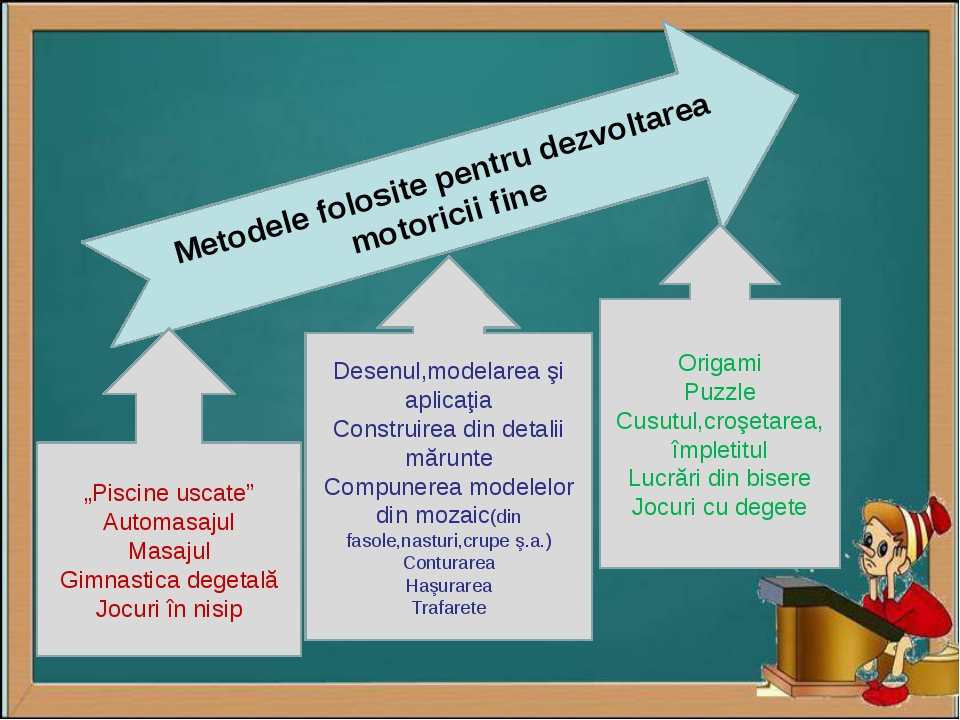 """Metodele folosite pentru dezvoltarea motoricii fine """"Piscine uscate"""" Automas..."""