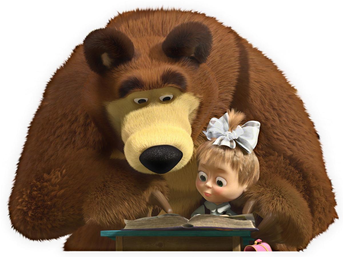 Маша и медведь Раскраска - Android