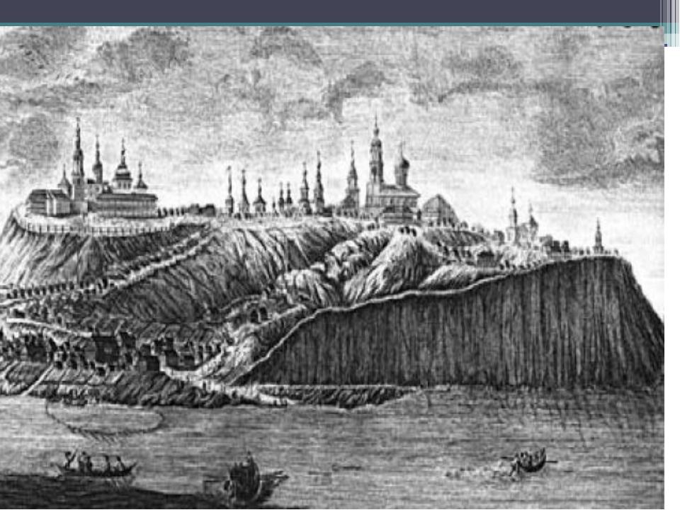 Казань в середине XVI века