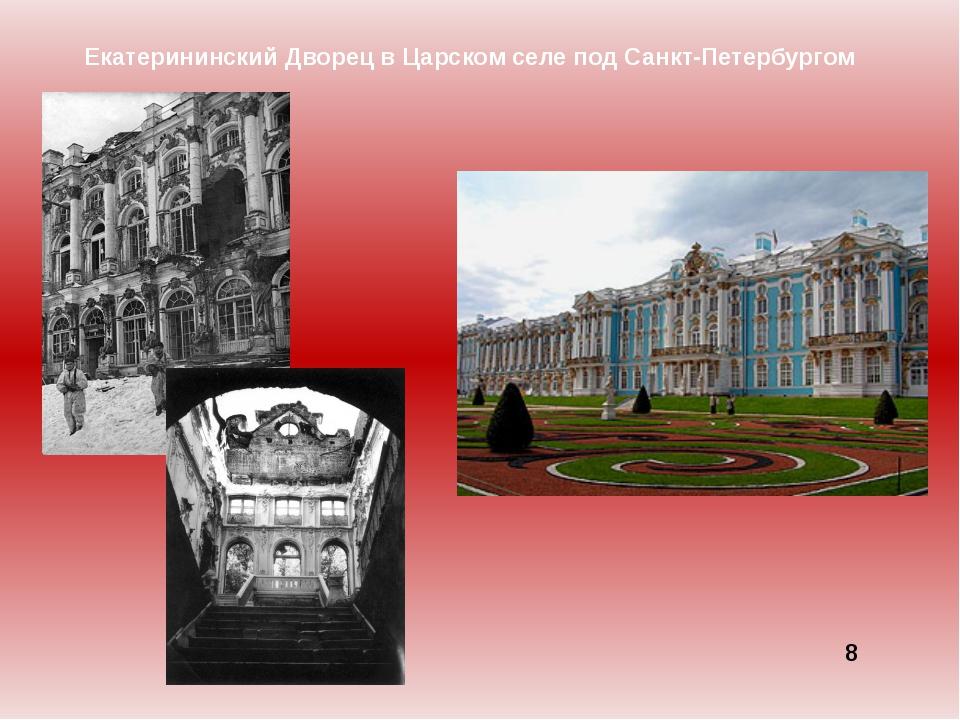 Екатерининский Дворец в Царском селе под Санкт-Петербургом 8