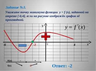 . На рисунке изображен график функции y=f(x) на интервале (-2; 12). Найдите