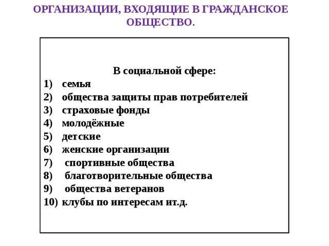 Гражданское общество и государство Линии сравнения Гражданское общество Госуд...
