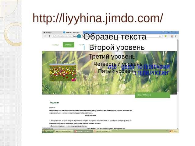 http://liyyhina.jimdo.com/