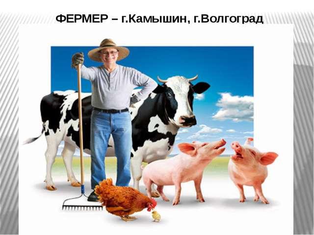 ФЕРМЕР – г.Камышин, г.Волгоград