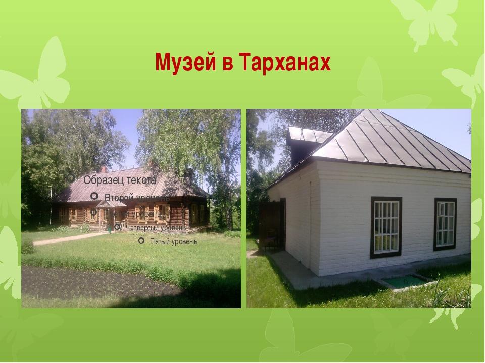 Музей в Тарханах