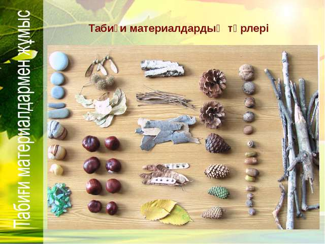 Поделки из природного материала на скорую руку 22