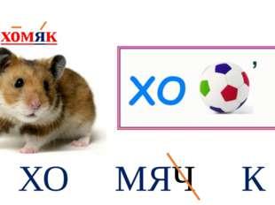 ХО МЯЧ К хомяк