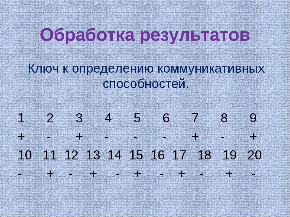 Обработка результатов 1 23456789 +-+---+-+ 10 11 12 13 14 15...