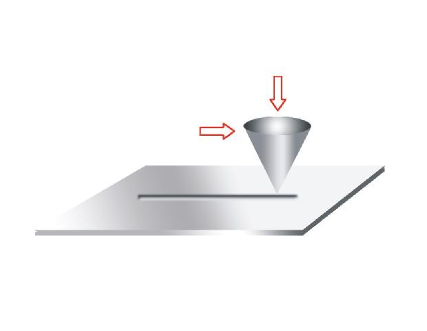 Описание: http://www.ducom.com/Products/lightbox/tr101/Scratch%20Tester%20-%20contact%20geometry.jpg