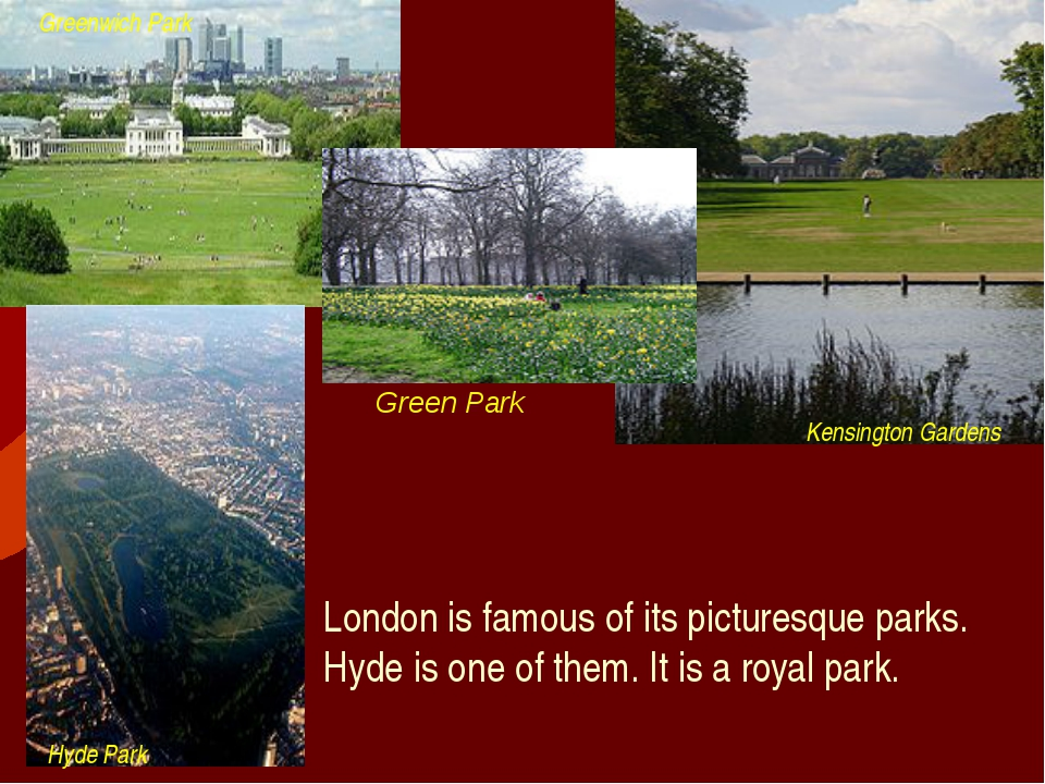 Green Park London is famous of its picturesque parks. Hyde is one of them. It...