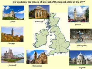 Do you know the places of interest of the largest cities of the UK? Brighton