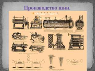 Производство шин.