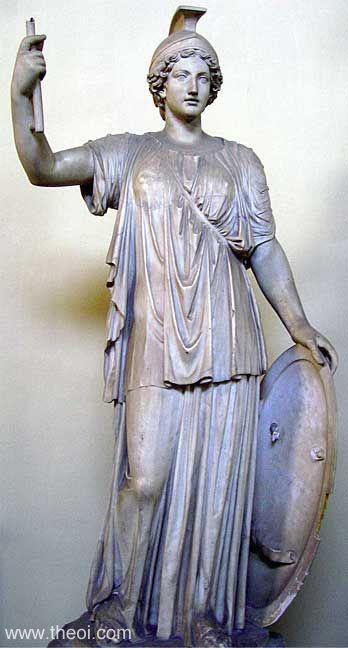 Athene 2 Статуи греческих Богов — часть первая