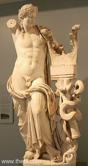 Apollon Статуи греческих Богов — часть первая