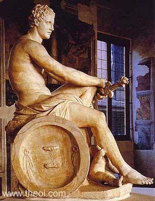 Ares Статуи греческих Богов — часть первая