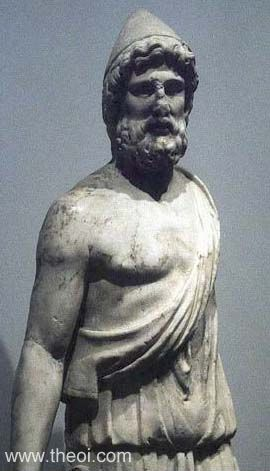 Hephaistos Статуи греческих Богов — часть первая