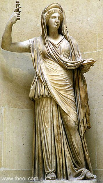 Hera Статуи греческих Богов — часть первая
