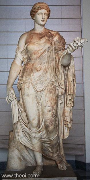 Demeter Статуи греческих Богов — часть первая