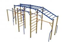 Яремче спортивный комплекс, цена на спортивные площадки, купить детский спортивный комплекс iBud.ua