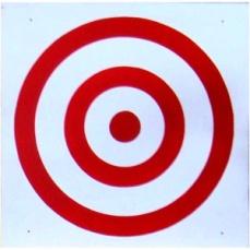 Щит для метания мяча в цель 700*700мм фанера (10мм) с креплением к щведской стенке - купить в Москве в интернет магазине. Щит дл