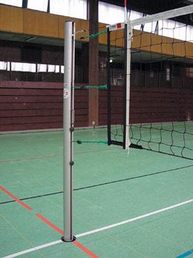 Стойки волейбольные фото. ТМП-спорт оборудование для спортивных и игровых площадок.