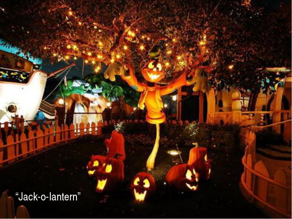 """""""Jack-o-lantern"""""""
