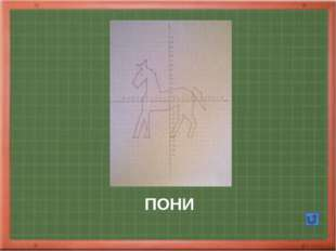 СОБАКА Автор Полосина М 2002 1.( 0;6);(0;7);(-1;6);(-2;6);(-3;5);(-4;5) (-4;