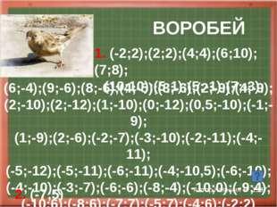 БОСТОНТЕРЬЕР Автор Ганиева Г 2002 (2,4;2,5);(2,5;3,5);(3;3);(3,5;3); (4;3,5)