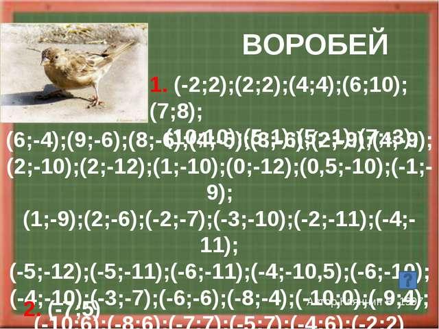БОСТОНТЕРЬЕР Автор Ганиева Г 2002 (2,4;2,5);(2,5;3,5);(3;3);(3,5;3); (4;3,5)...