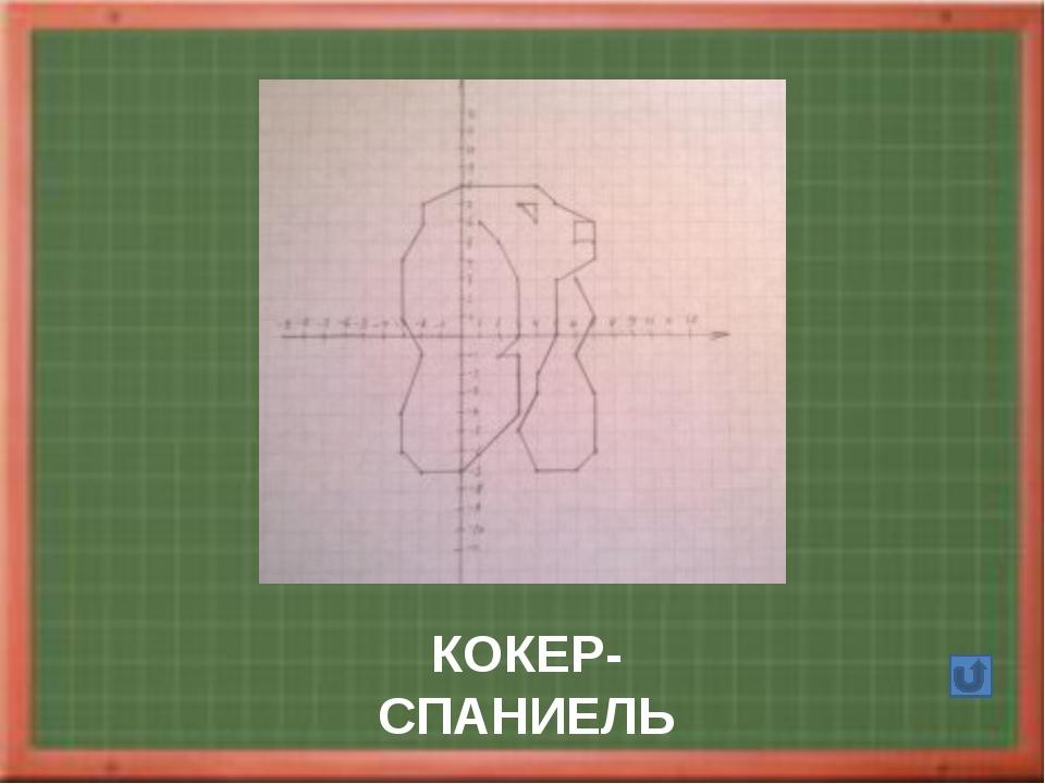 ГУСЬ Автор Полосина М 2002 1.(-6;12);(-7;11);(-9;9,5);(-7;8);(-6;7); (-6;-2)...