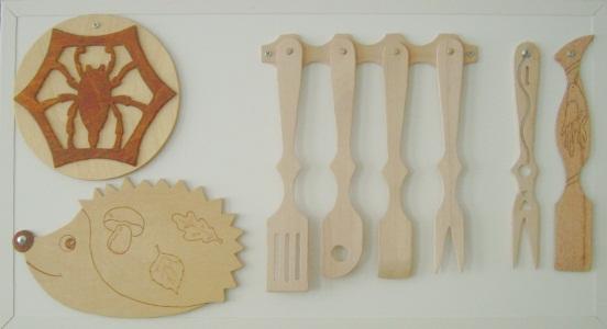 Изделия для кухни из фанеры