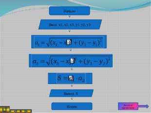 Задача 5 Составить алгоритм, который с тремя произвольными числами x, y и z