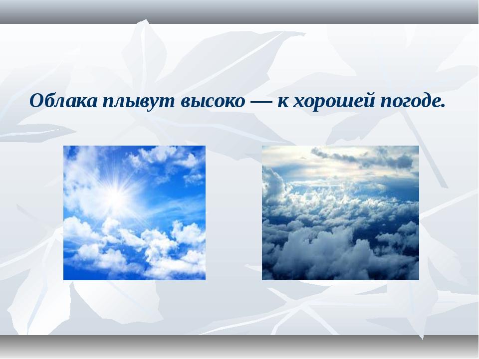Погода и климат на английском языке