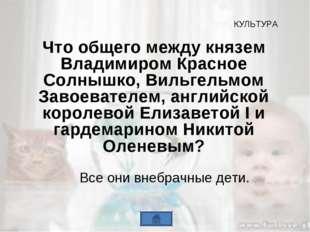 Что общего между князем Владимиром Красное Солнышко, Вильгельмом Завоевателем