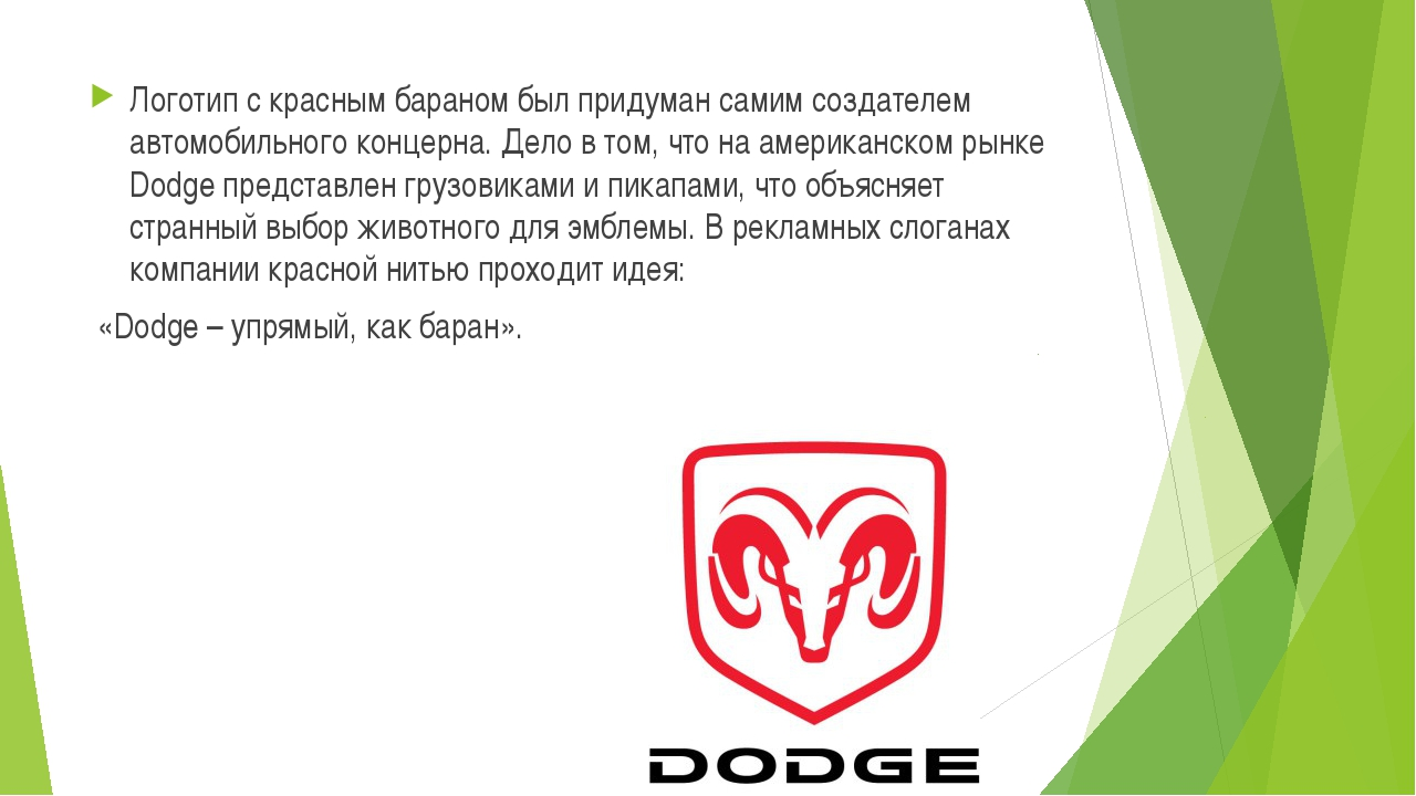 Логотип с красным бараном был придуман самим создателем автомобильного концер...