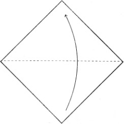 Оригами колокольчик