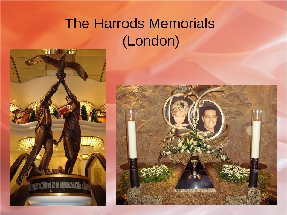 The Harrods Memorials (London)