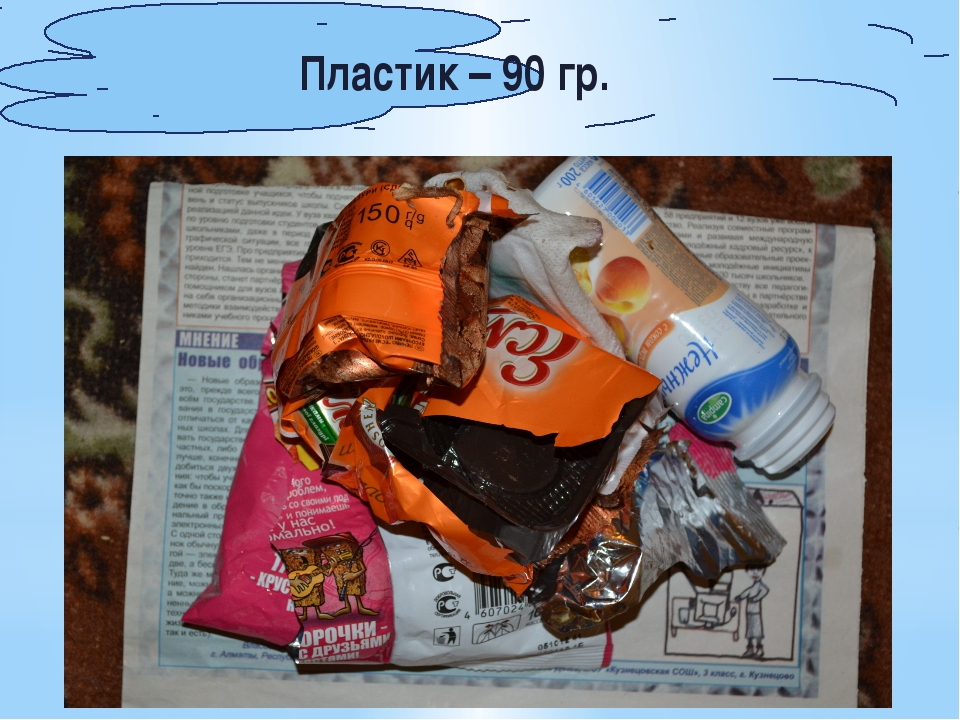 Пластик – 90 гр.